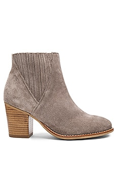 Didi Booties in Sand Suede