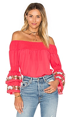 Dina Top in Red