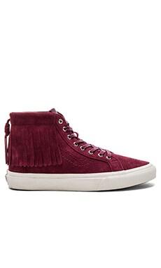 SK8-Hi Moc Sneaker in Port Royale & Blanc De Blanc