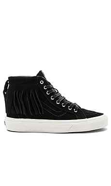 SK8-Hi Moc Sneaker in Black Blanc De Blanc