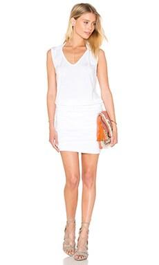 Karris Modal Knit Dress in White