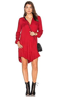 Olgita Mini Dress in Rouge