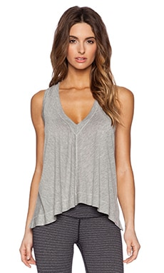 Serenity Tank in Light Heather Grey