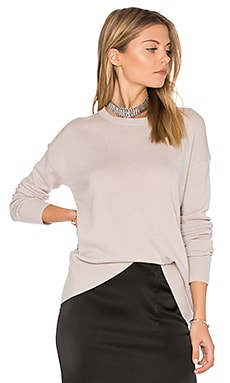 Boxy Pullover in Sand