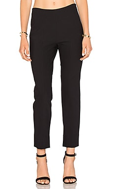 Side Zip Pant in Black