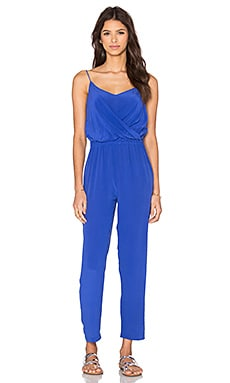 Lira Jumpsuit in Solid Blue