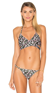 Middle Loop Bikini Top in Liberty