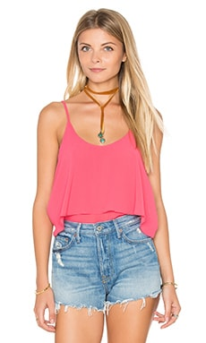 Overlay Cami in Coral