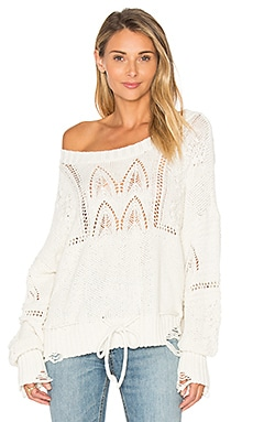 Addie Sweater in Alabaster