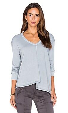 Shifted Sweatshirt in Dusty Blue