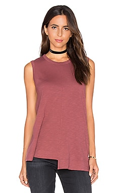 Shifted Trapeze Shell Tank in Mulberry