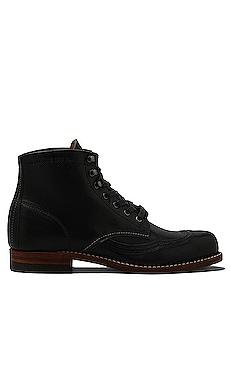 1000 Mile Addison Wingtip Boot in Black