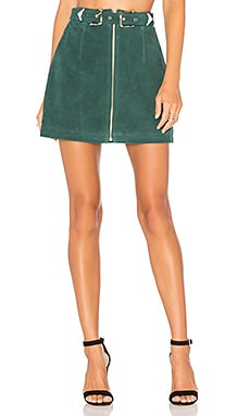 Elise Skirt in Petrol Green