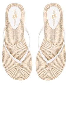 Roee Rope Sandal in White