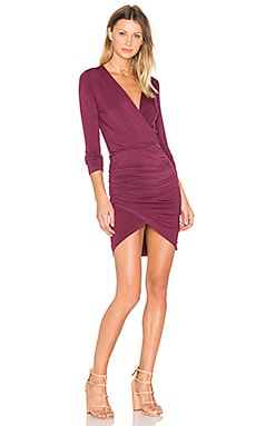 Lex Dress in Burgundy