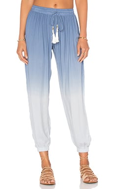 Selena Pant in Chambray Ombre