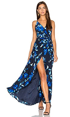 Rush Hour Maxi Dress in Night Time Elegance