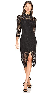 Leading Lady Dress in Black Lace