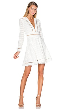 Zephyr Broderie Dress in Ivory