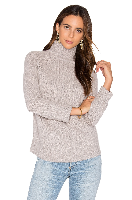 Europa Cashmere Turtleneck Sweater