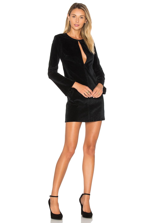 Bell Sleeve Velvet Dress