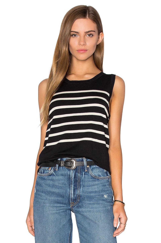 Parisenne Stripe Sweater Vest