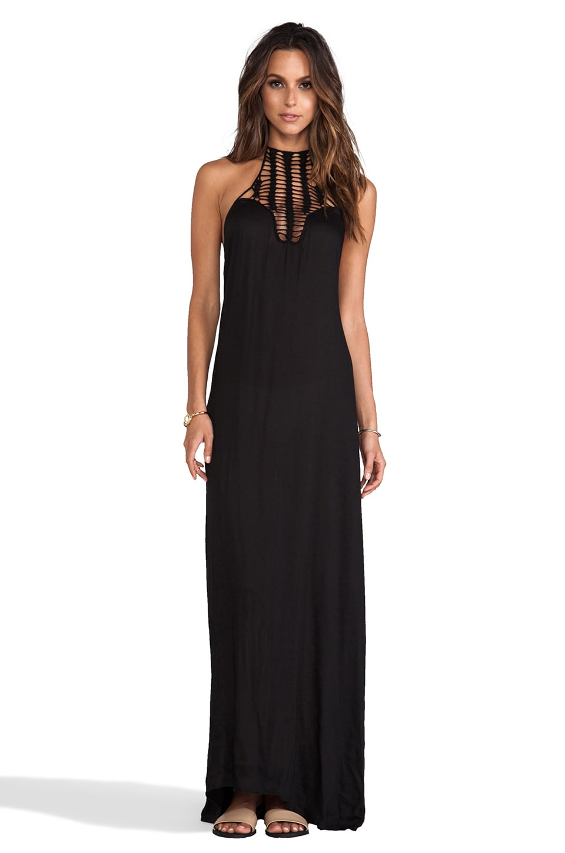 Positano Crochet Maxi Dress