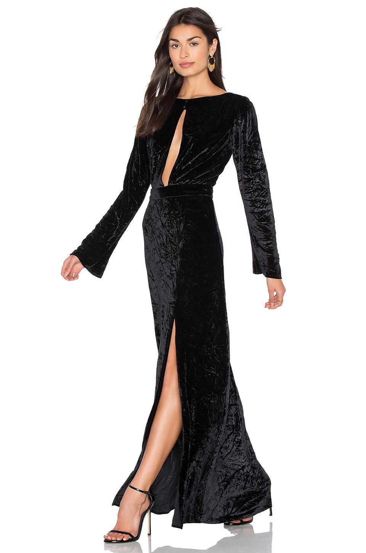 Grace Velvet Maxi Dress