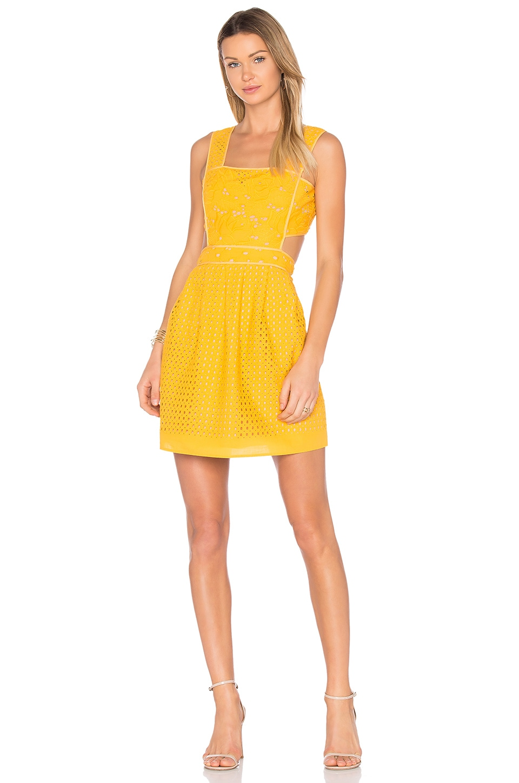 Ann Broderie Pinafore Dress