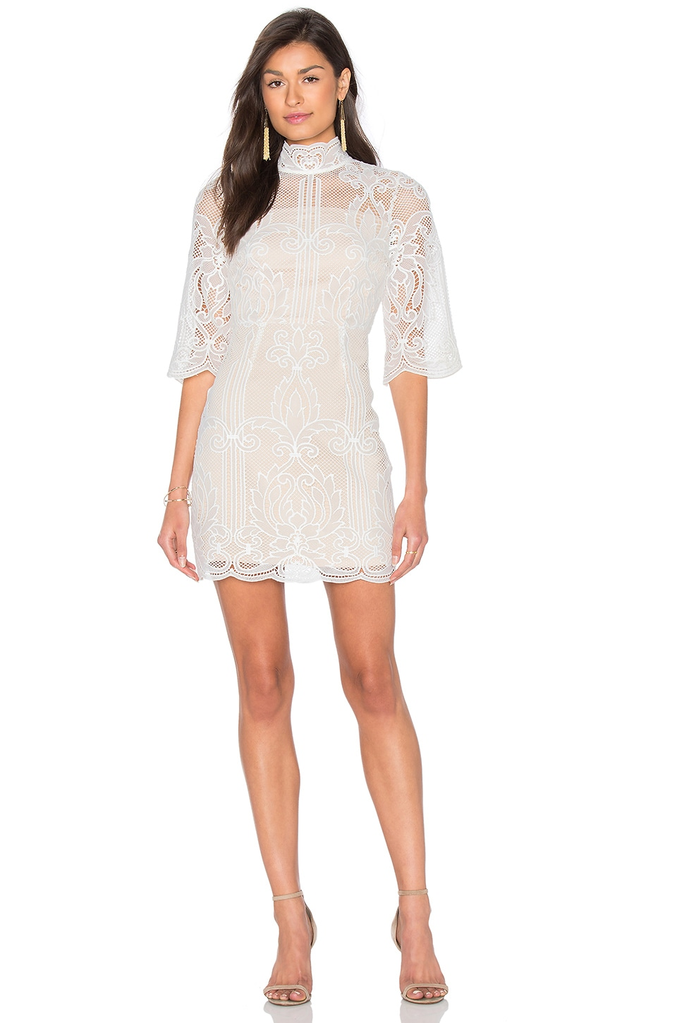 Tatiana Embroidered Mini Dress