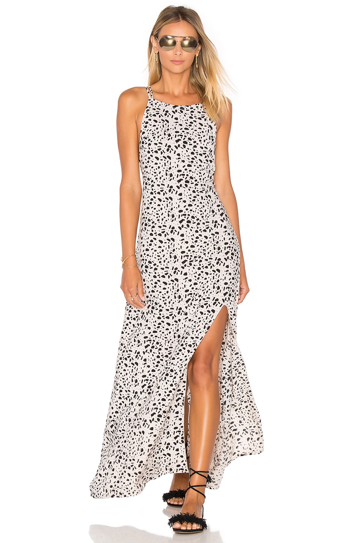 Arrow Strappy Maxi Dress