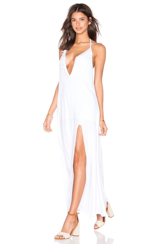 Nunu Halter Maxi Dress