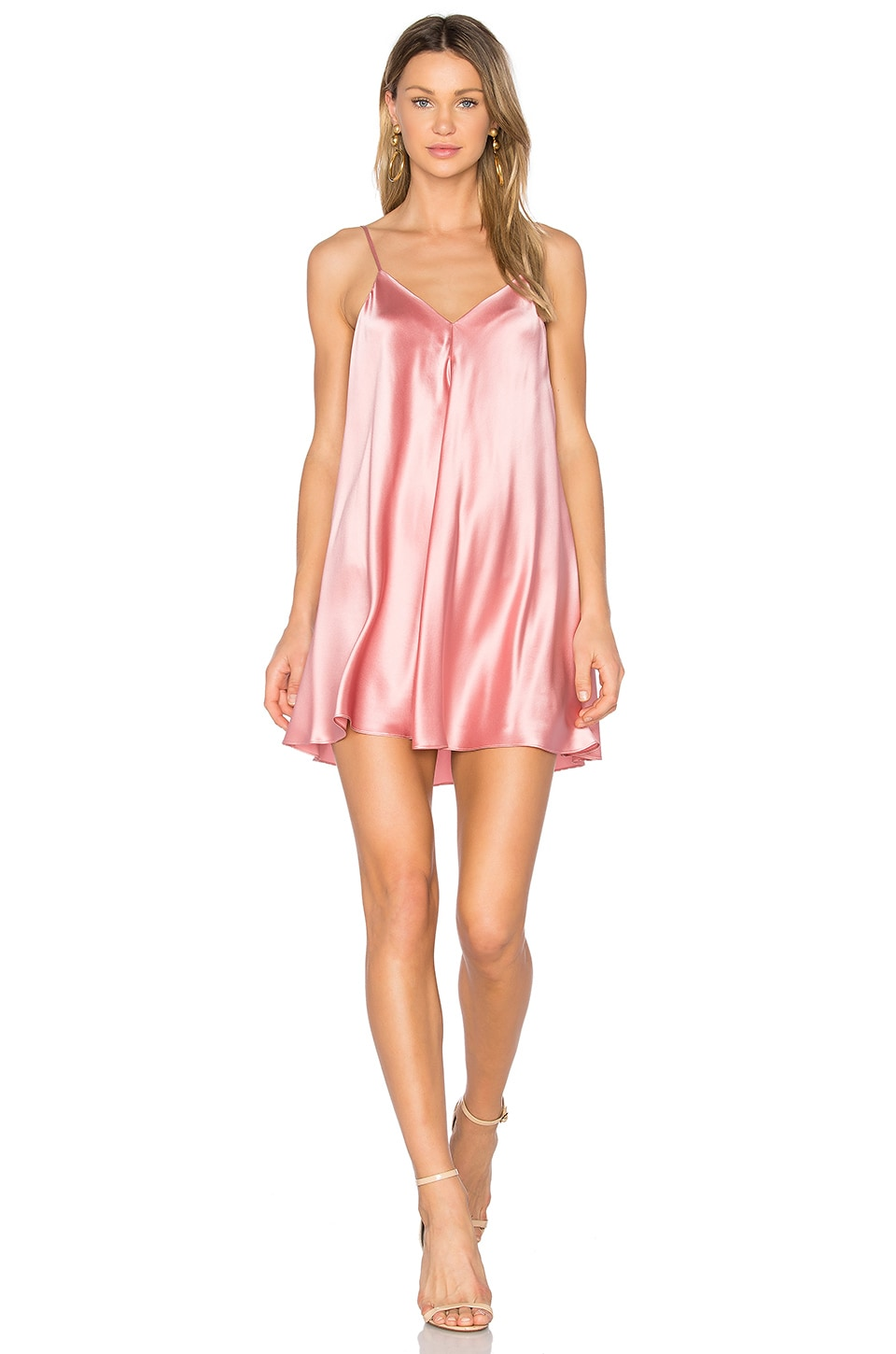 Deep V Slip Dress