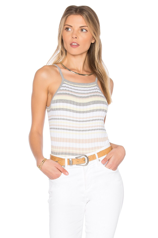x REVOLVE Bib Stripe Crop Top