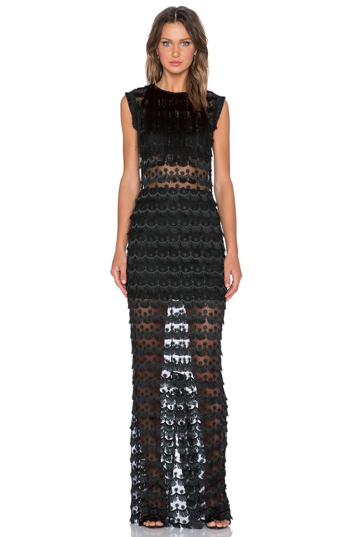 Maverick Fringe Maxi Dress
