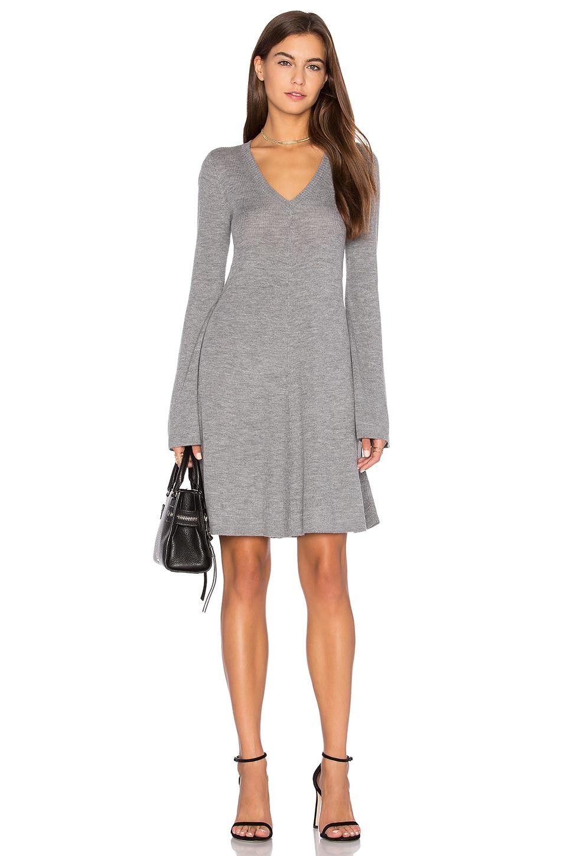 Flare Sleeve Sweater Dress