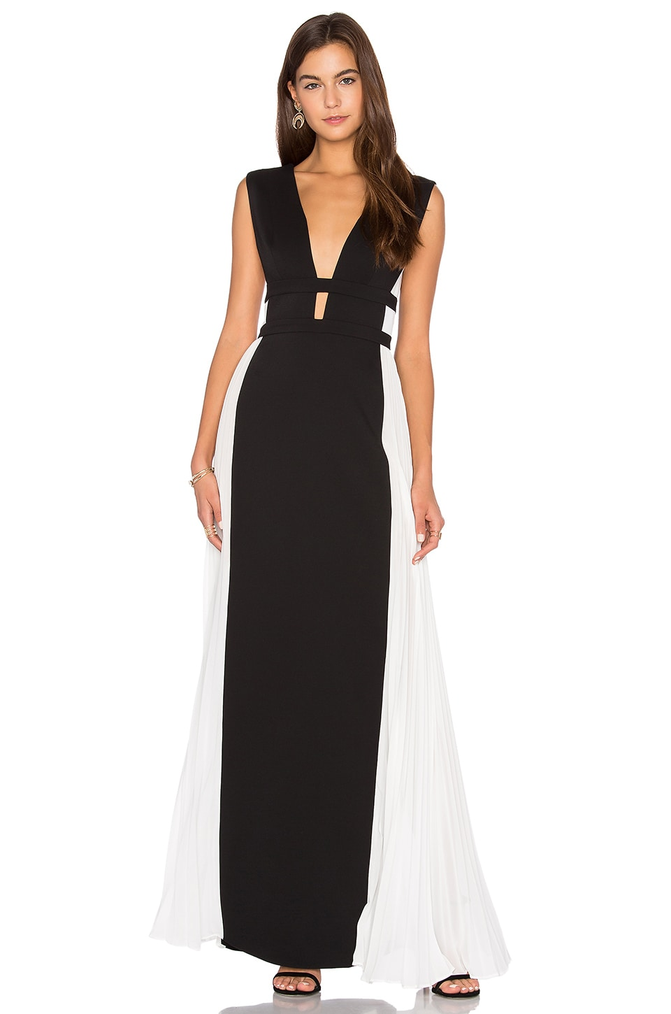 Colorblock Gown