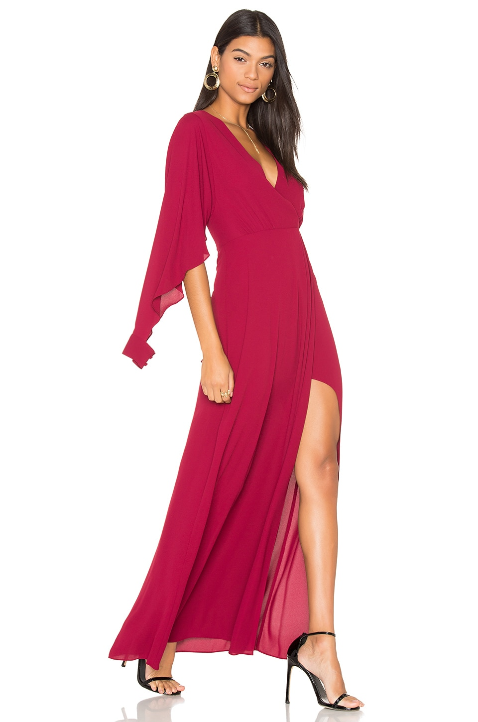 Open Sleeve Gown