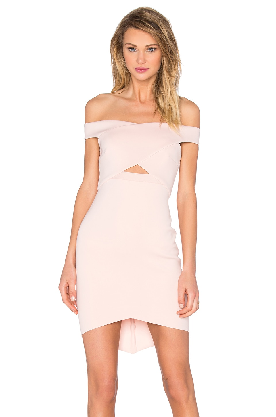 Desert of Paradise Off Shoulder Mini Dress