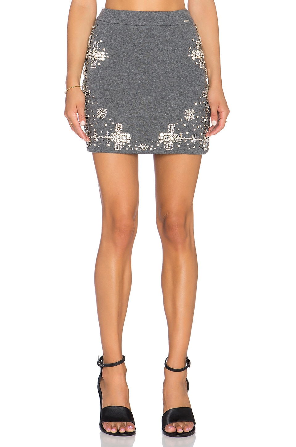 Crystalized Mini Skirt