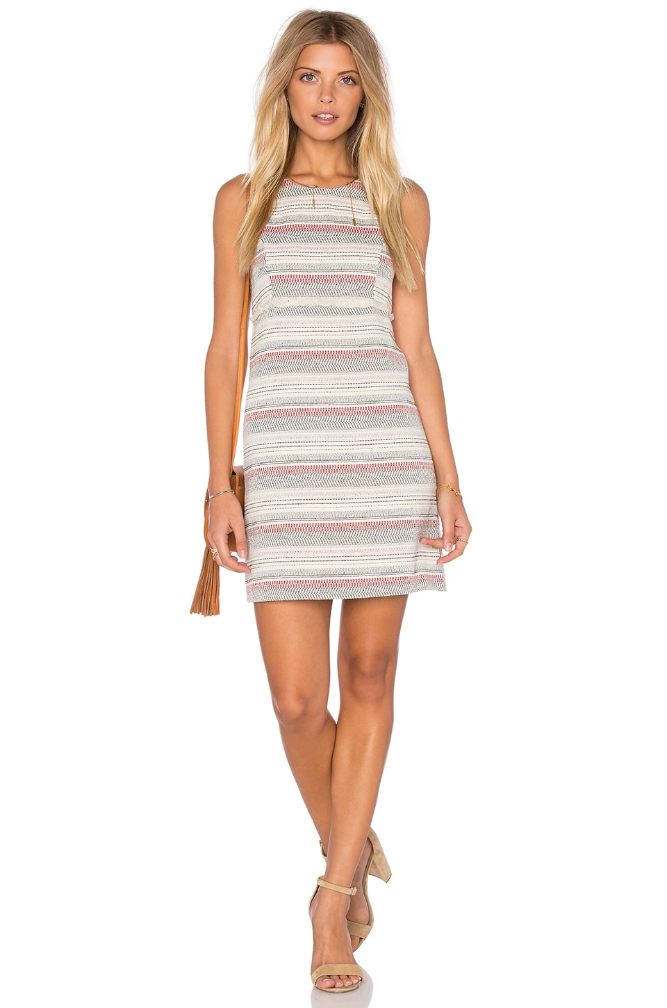 Crochet Stripe Dress