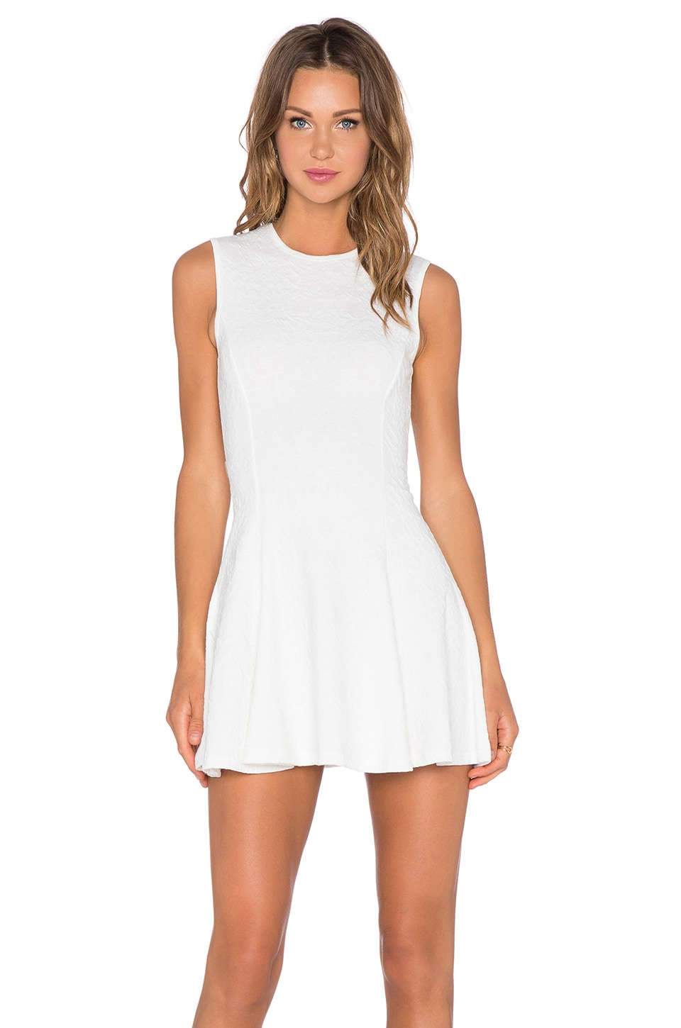 Fit & Flare Mini Dress