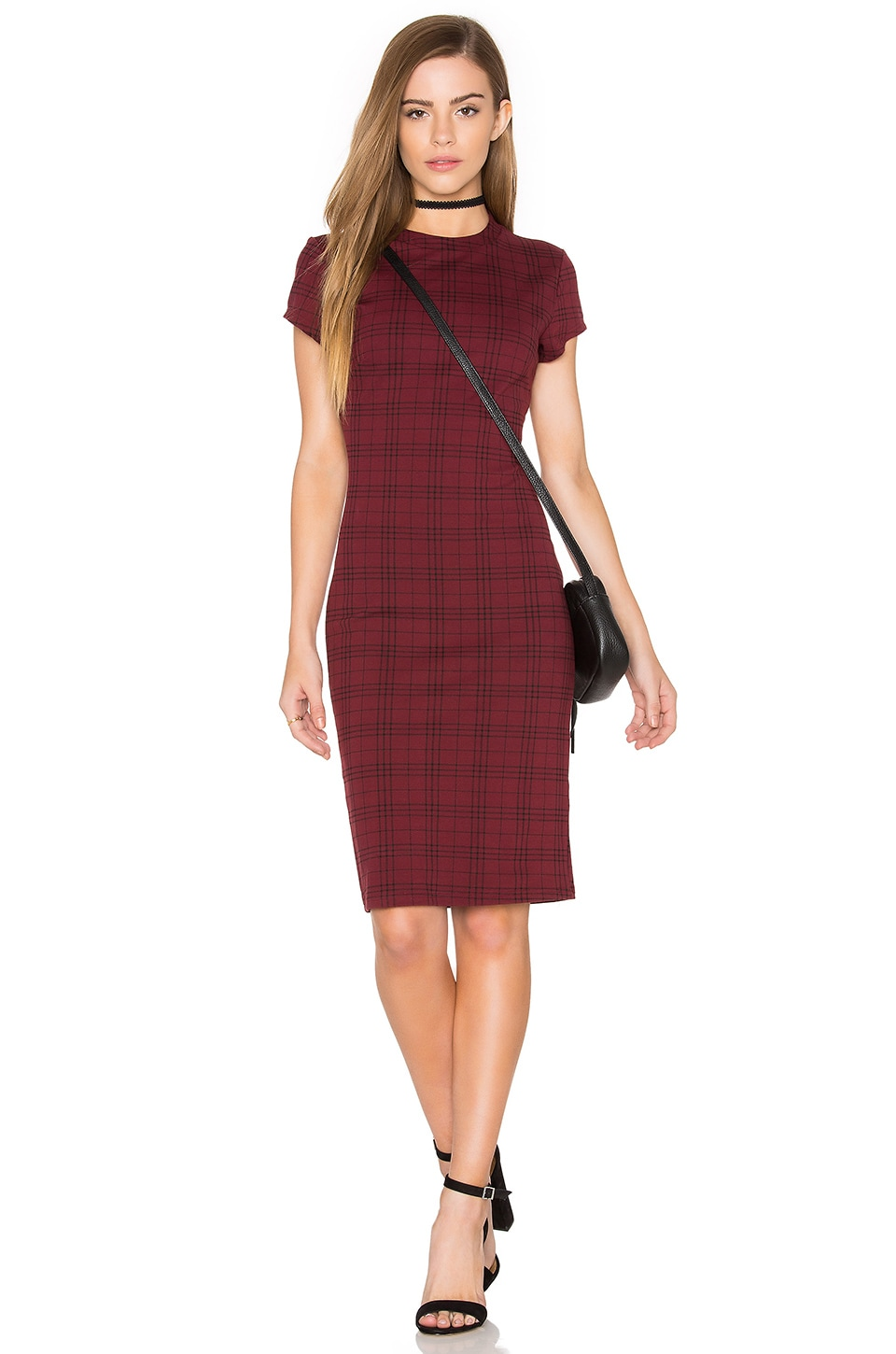 Ellie Plaid Mini Dress