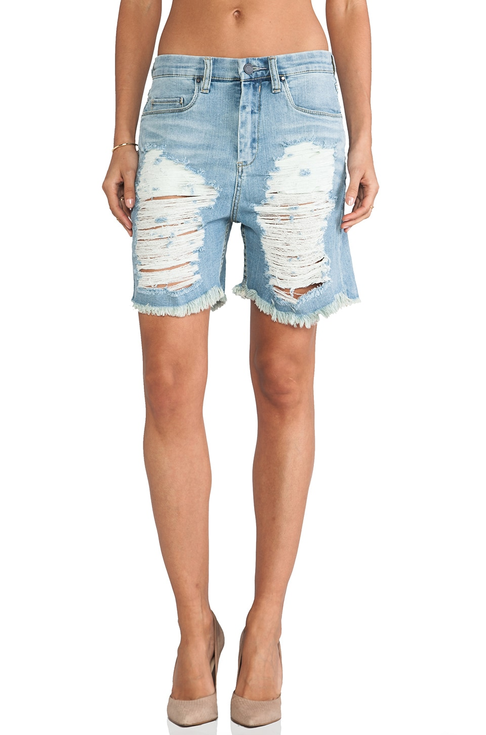 Destroyed Bermuda Short
