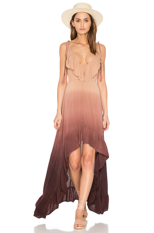 Hi Low Ruffle Dress