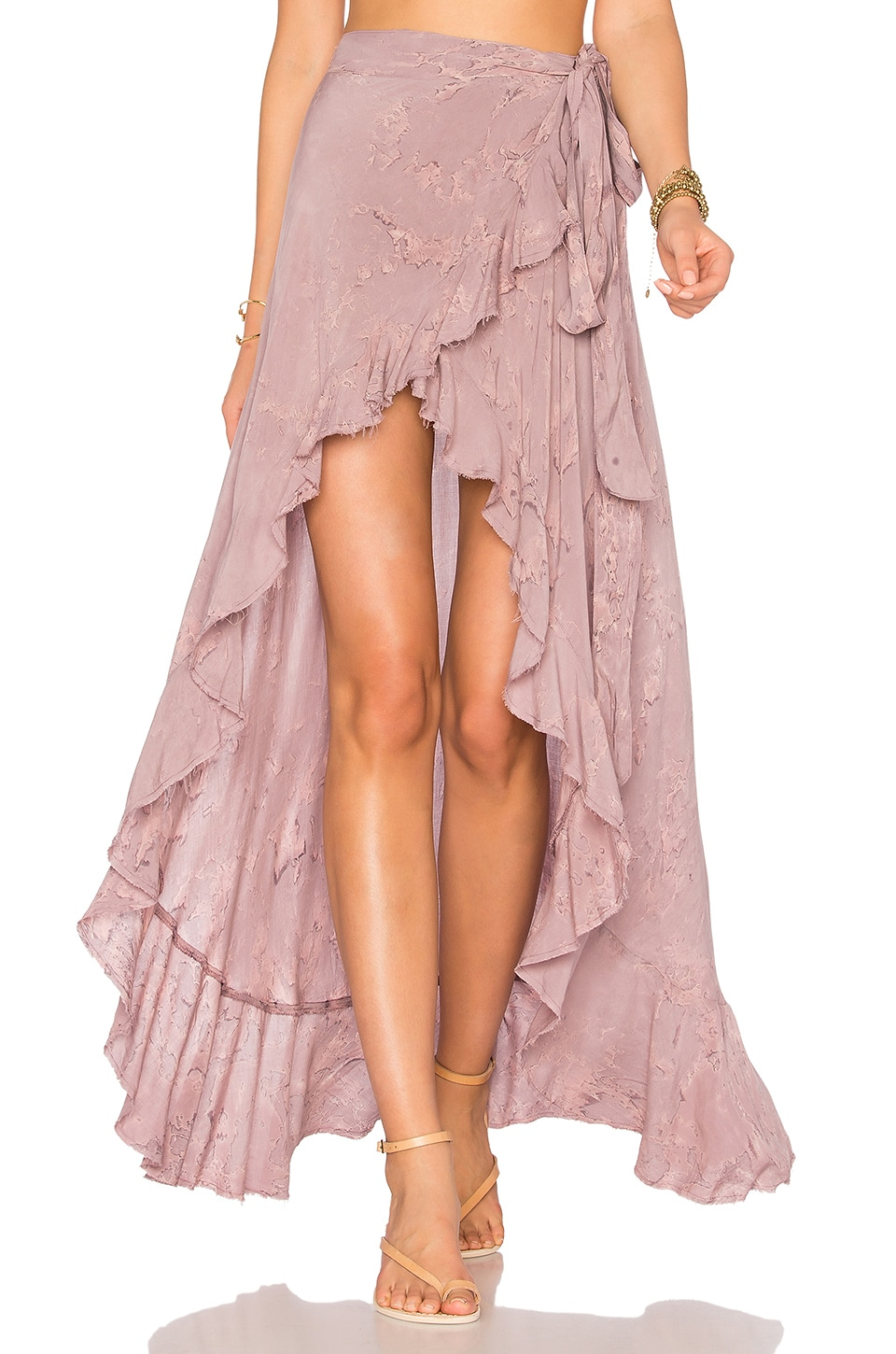 Aura Wrap Skirt