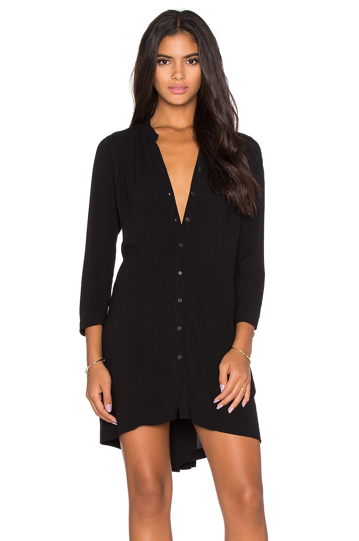 Pleat Back Shirt Dress