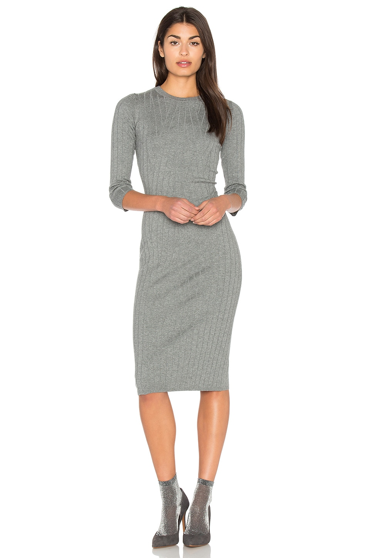 Crossed Rib Sweater Dress