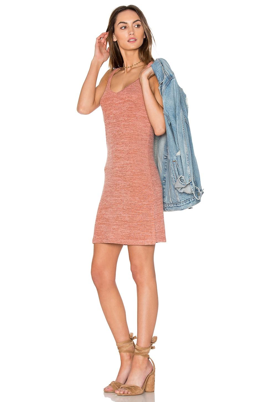 V Neck Mini Dress