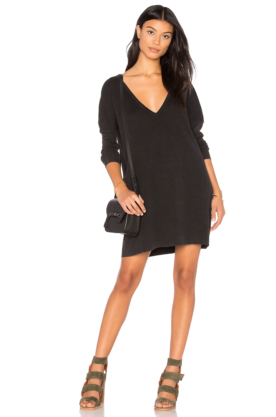 Enzyme Batwing Mini Dress